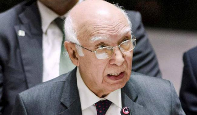 Russia, China to play vital role in regional changes: Sartaj