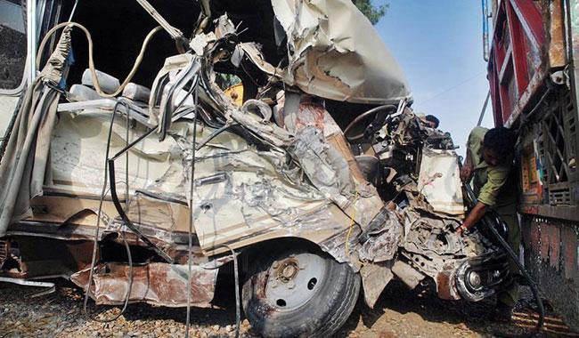 Three perish as truck topples off KPT Interchange