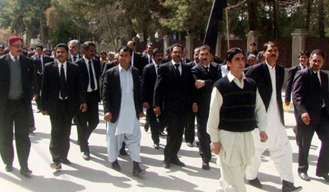 Lawyers observe strike against attack on judicial officers
