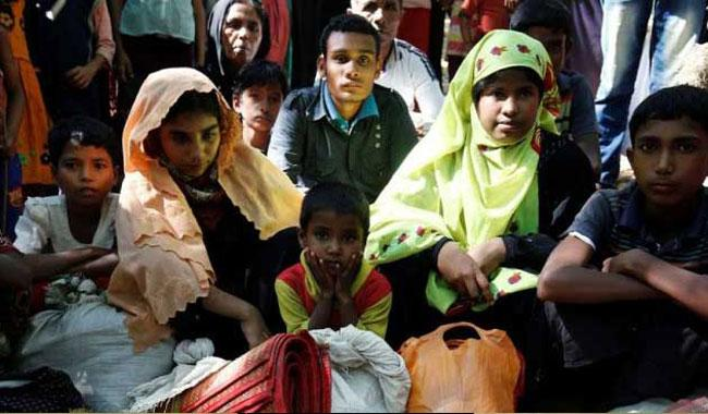 Hundreds of Rohingyas return home from BD