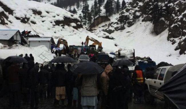 Avalanche kills seven workers near Lowari Tunnel