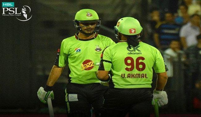 Umar Akmal inspires Lahore Qalandars win