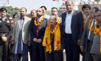Hindu yatrees arrive in Lahore