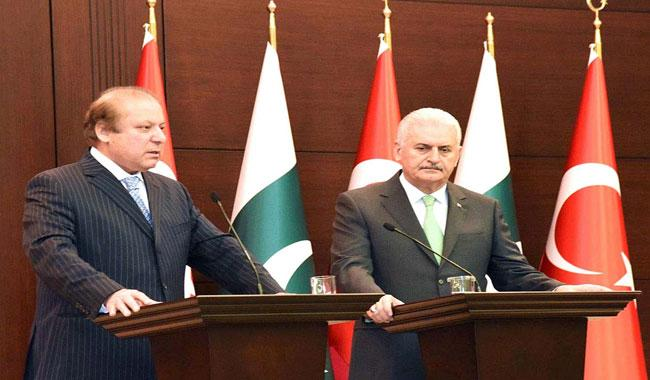 Nawaz Sharif to chair Pak-Turkey strategic cooperation session in Turkey