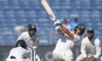 Renshaw not first player to get runs in India