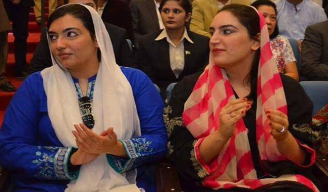 People like Marwat should be in jail, not in PPP: Bakhtawar, Aseefa