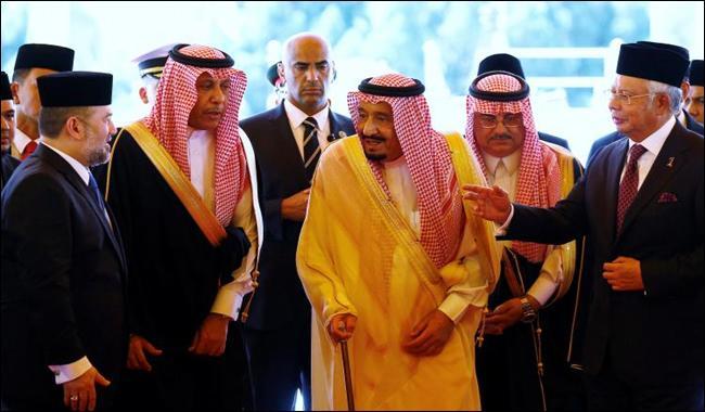Malaysia rolls out red carpet as Saudi king kicks off Asia tour