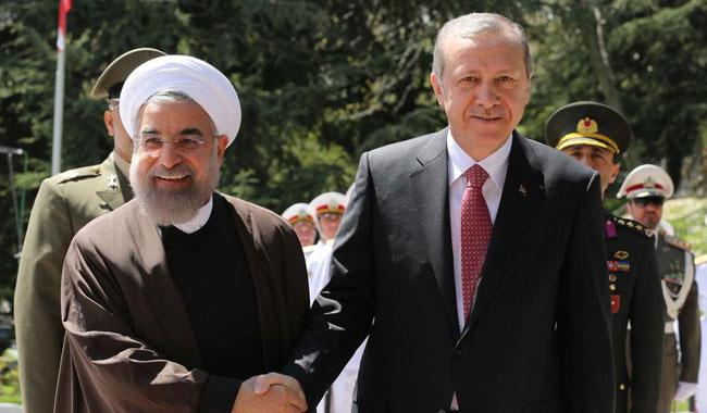 Rouhani, Erdogan agree to defuse tensions