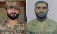 Captain, Sepoy martyred, five terrorists killed in Swabi clash