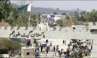 11,000 Afghans cross Torkham border on second day