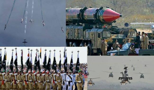 Pakistan Day Parade full dress rehearsal held