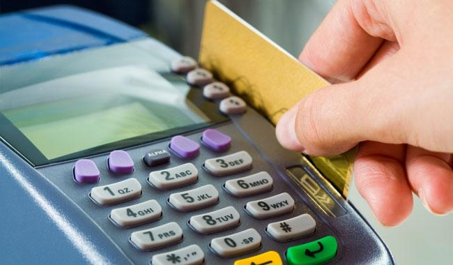 Non-cash banking transactions sharply fall 29 percent in July-Feb