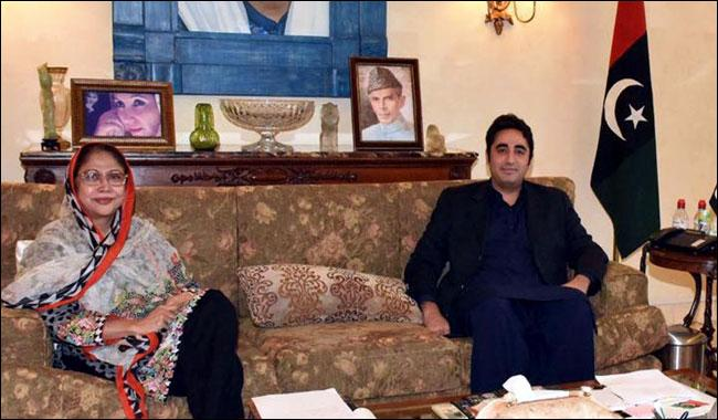 Bilawal to contest next elections on mother's seat: Faryal Talpur
