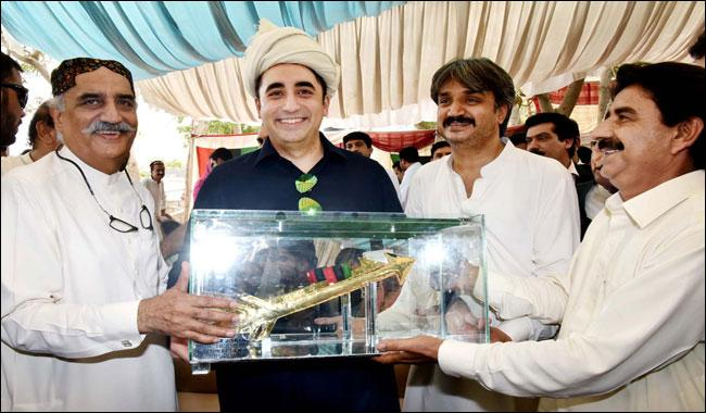 Zardari, Bilawal hit out at Sharif for 'failed' policy
