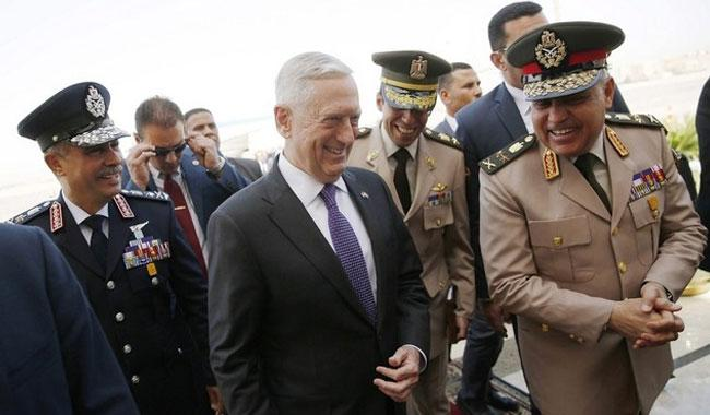 Pentagon chief pledges support for Sisi