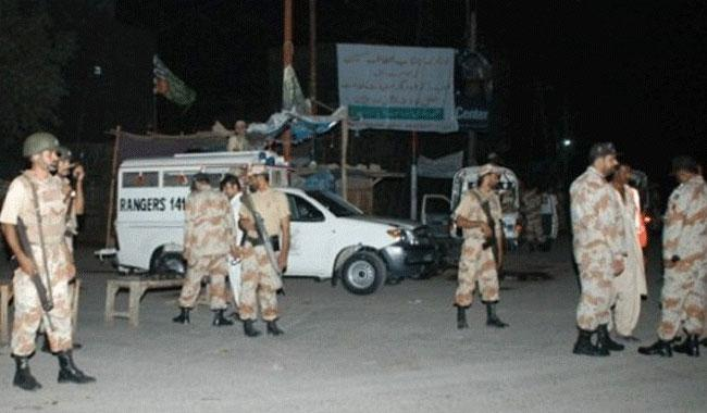 Four Rangers soldiers, two others injured in Urdu Bazaar shootout