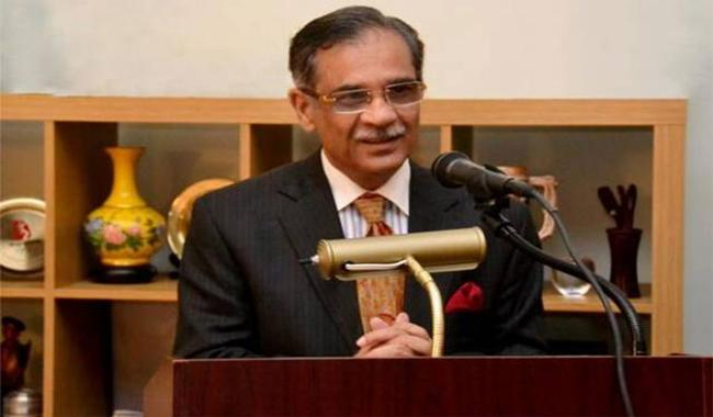 Nowhere in world hue and cry raised on dissenting notes: CJP