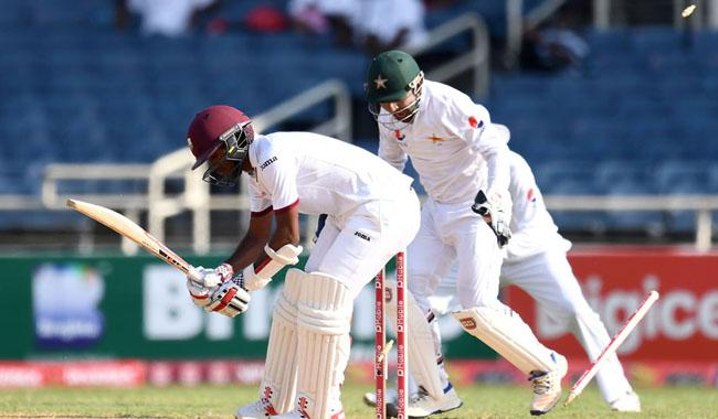 Pakistan on the brink to record victory in Caribbean