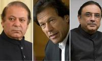Nawaz, Zardari one against PTI's new Pakistan brag