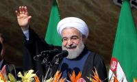 Rouhani sweeps second term as Iran's president