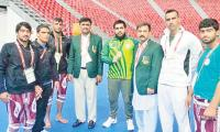 Pakistan's Islamic Games journey ends with nine bronze, three silver