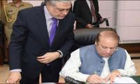Elected PM, FM present fifth consecutive budget for first time in Pak history