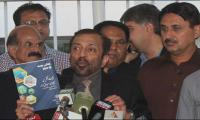 Opposition raises slogans, stages walkout, tears budget copies