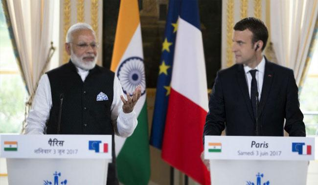 PM Modi reaches France, to hold talks with President Emmanuel Macron