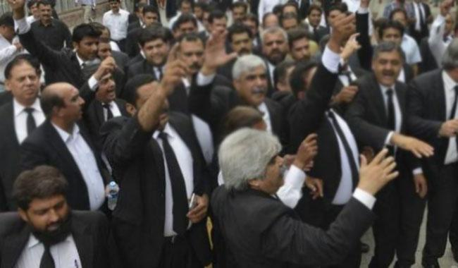 Lawyers in Chitral boycott courts