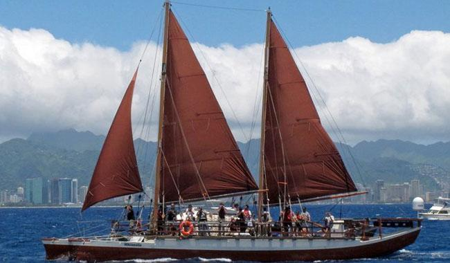 Hawaiian canoe comes home after epic round-the-world odyssey