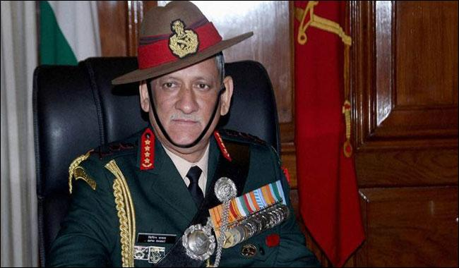 Indian Army chief's delusions on held Kashmir