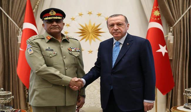 Army chief says Pakistan supports Turkey's position on Cyprus