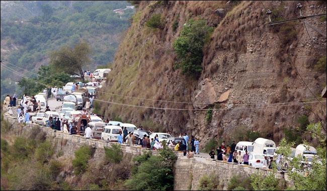 Northern areas fully packed with tourists