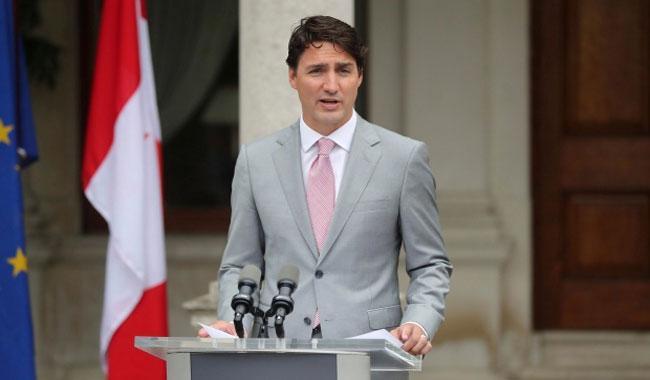 Canadian PM Justin Trudeau meets Taoiseach in Dublin