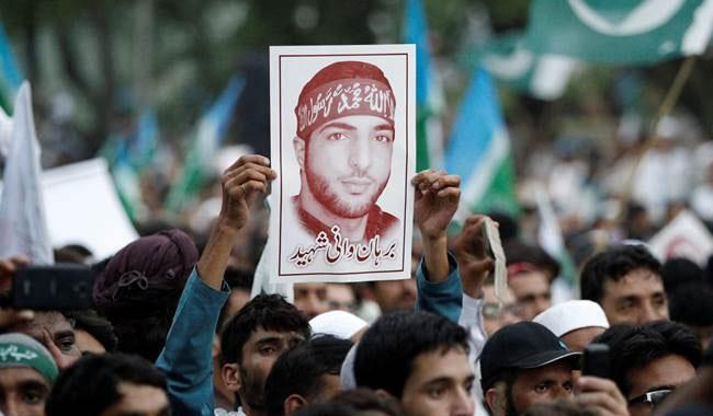 Pakistan reading from Lashkar script to hail Burhan