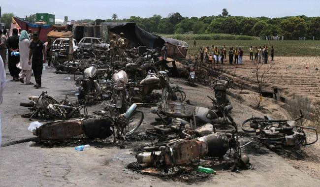 Pakistan orders Shell to pay $2.4M in oil tanker explosion