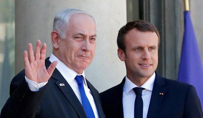 Macron, Netanyahu mark 75 years since Paris roundup of Jews
