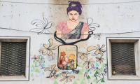 First Death Anniversary: Artists paint Qandeel Baloch's mural to honour her memory