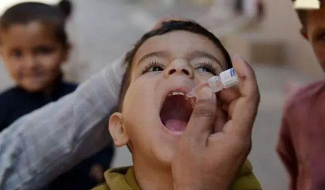 Second phase of polio drive kicks off in city