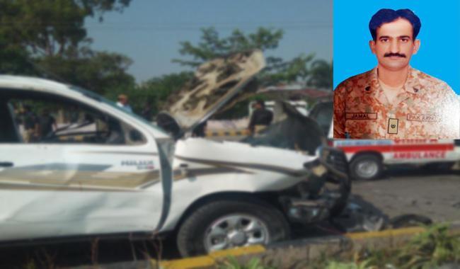 FC major, sepoy martyred in Peshawar suicide attack