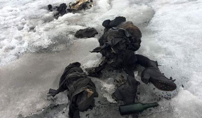 Swiss glacier yields bodies of couple missing for 75 yrs