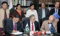 Pakistan, EU sign €60 million accord to improve nutrition
