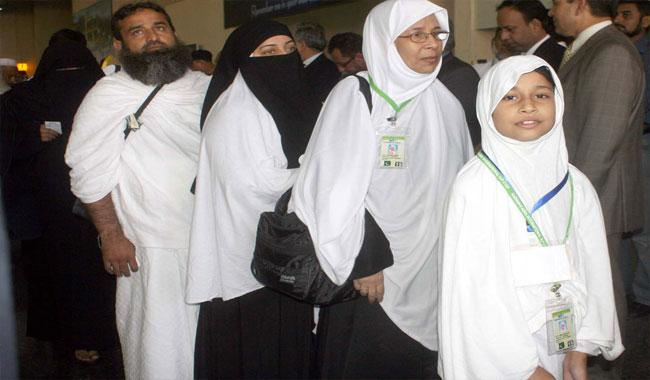 First batch of 420 Haj pilgrims from JK leave for Saudi Arabia