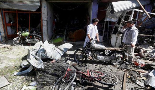 Auto bomb hits Afghan capital Kabul, casualties feared