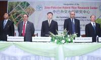 Pakistan's first hybrid rice research centre opens at ICCBS