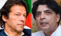 Nisar and Imran hold meeting
