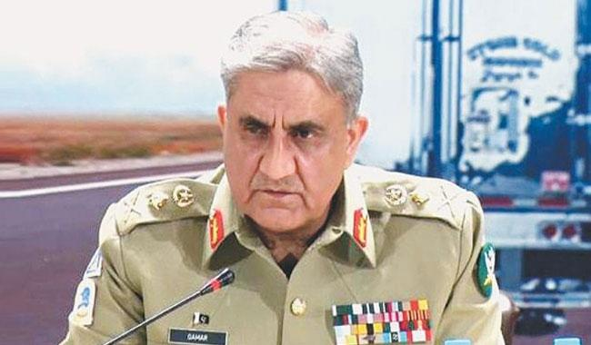 Terrorism to be ended, borders to be secured: COAS