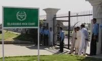 IHC moved for disqualification of Kh Asif