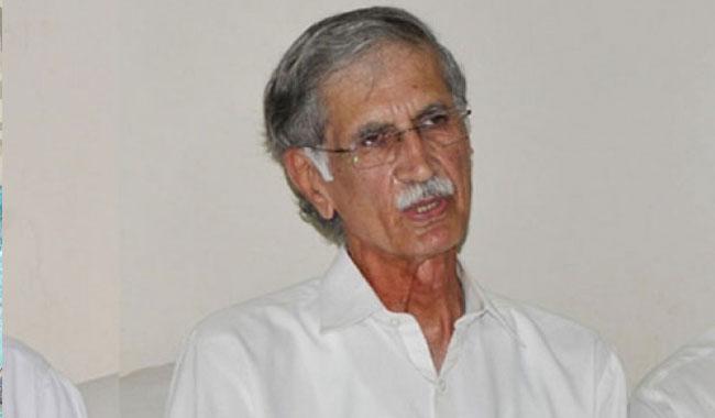 Nawaz on roads against state institutions: Khattak