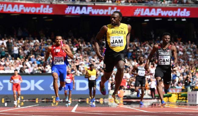 Bolt anchors Jamaica into finals
